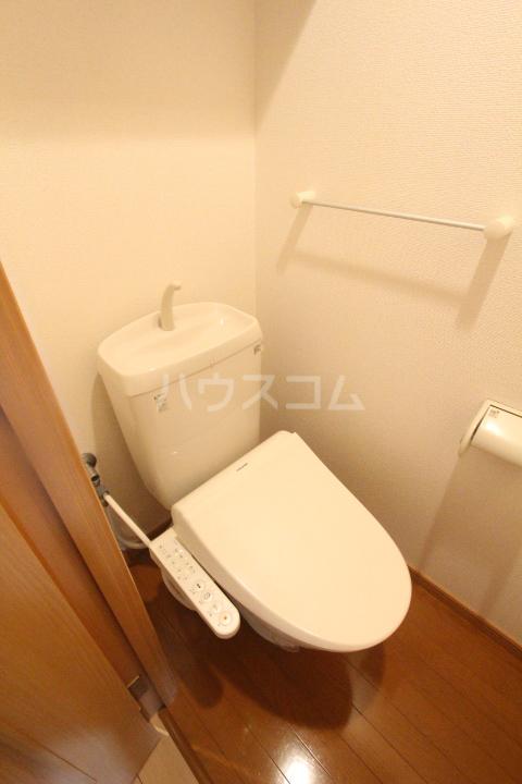 スピリットK 201号室のトイレ