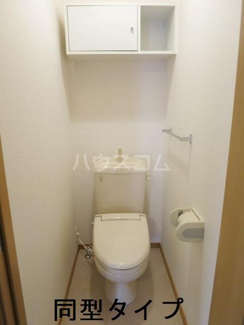 ラフィーネB B102号室のトイレ