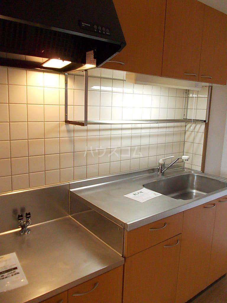 シャン・ド・フルールS 202号室のキッチン