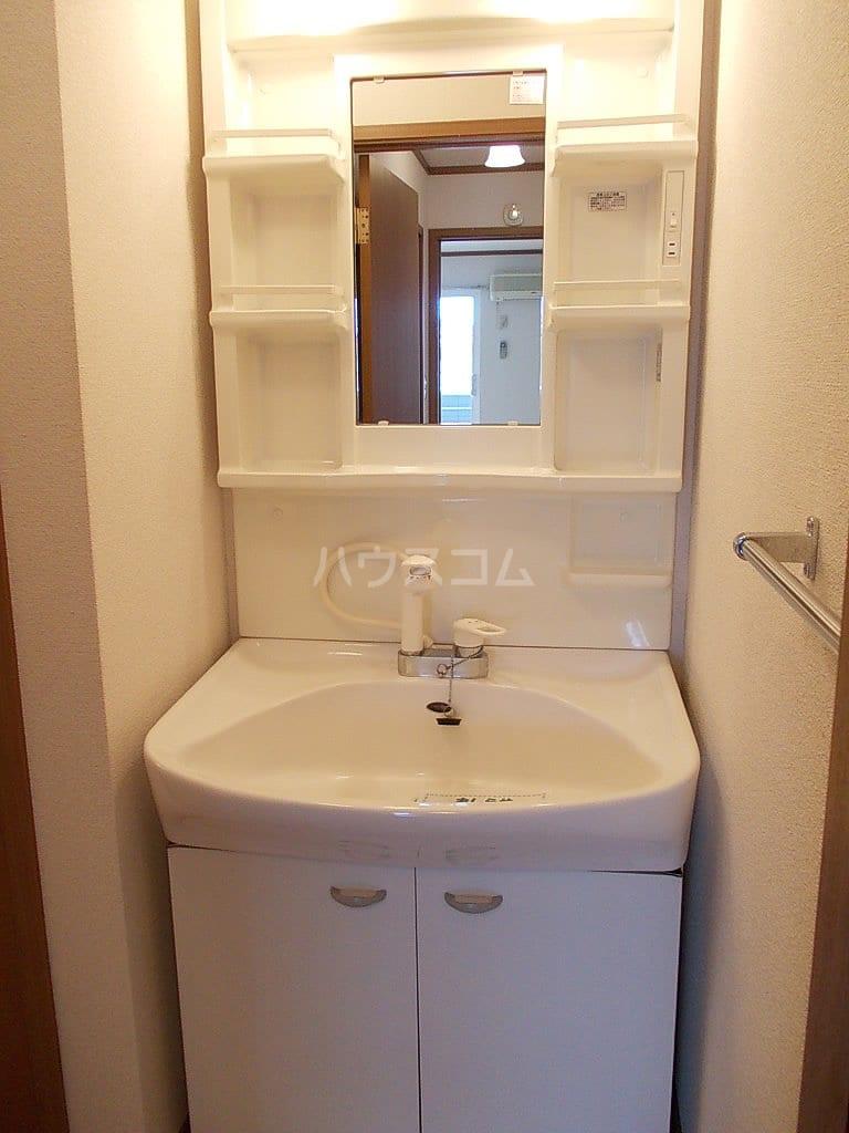 シャン・ド・フルールS 202号室の洗面所