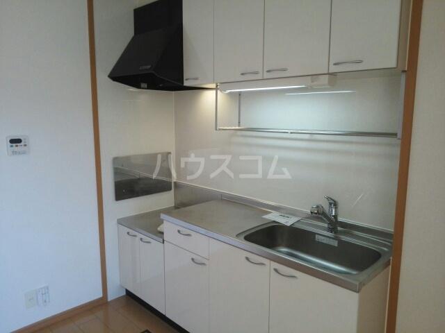 プラシードB 01020号室のキッチン