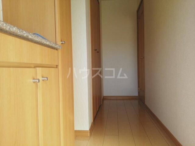 プラシードB 01020号室の玄関