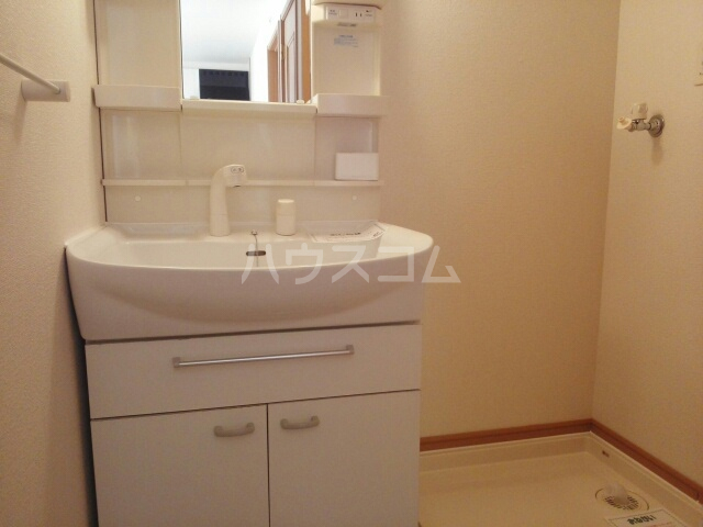 プラシードB 01020号室の洗面所