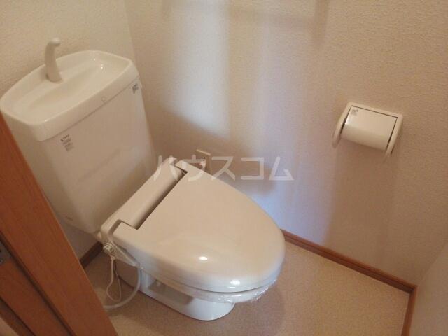 プラシードB 01020号室のトイレ