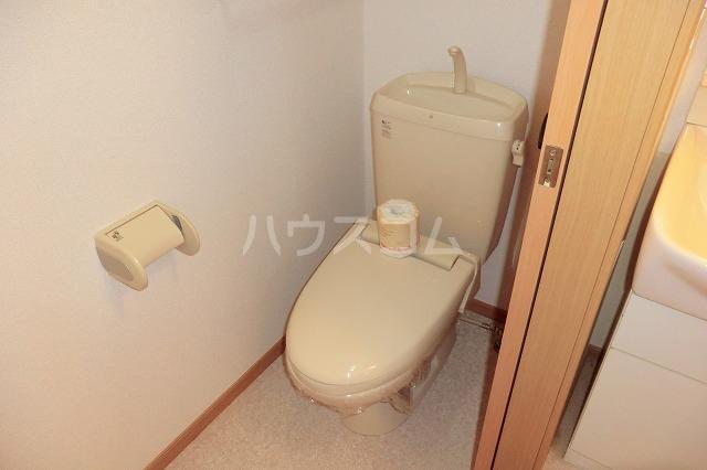 クリスタルハート 203号室のトイレ