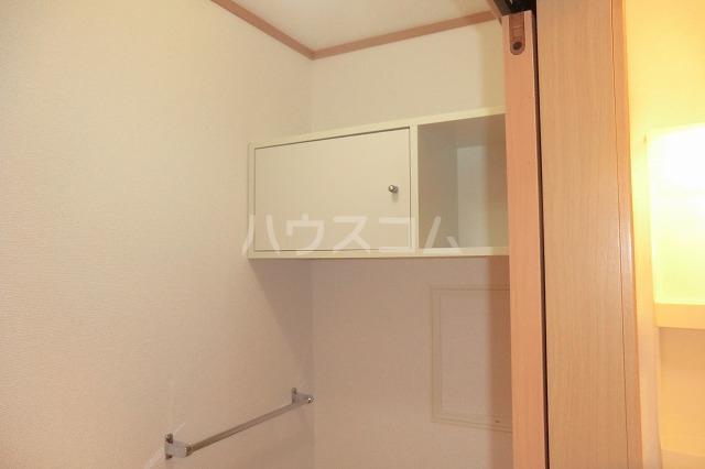 クリスタルハート 203号室の収納