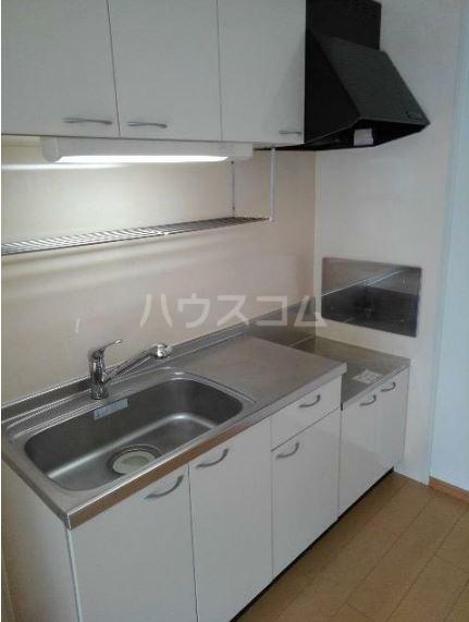 リバーサイドグリーン 02030号室のキッチン