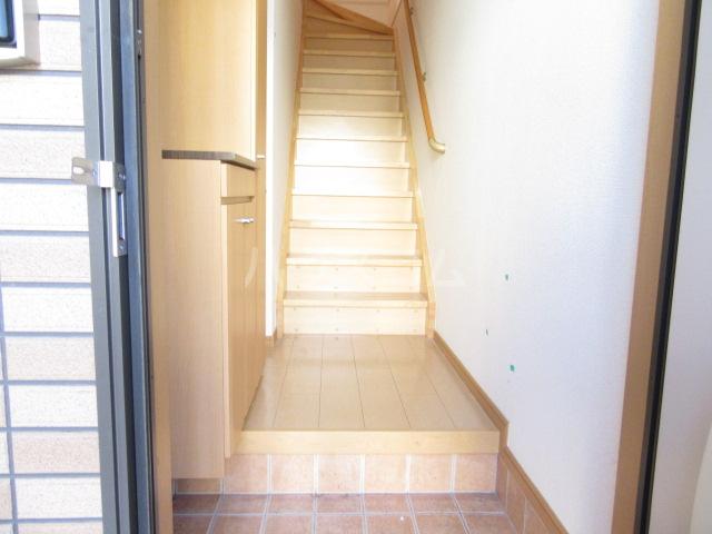 サンリット Ⅰ 02010号室の玄関