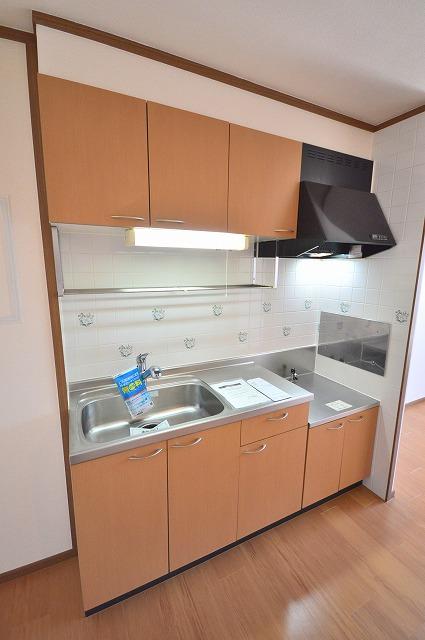 ファミール須恵 B 02030号室のキッチン
