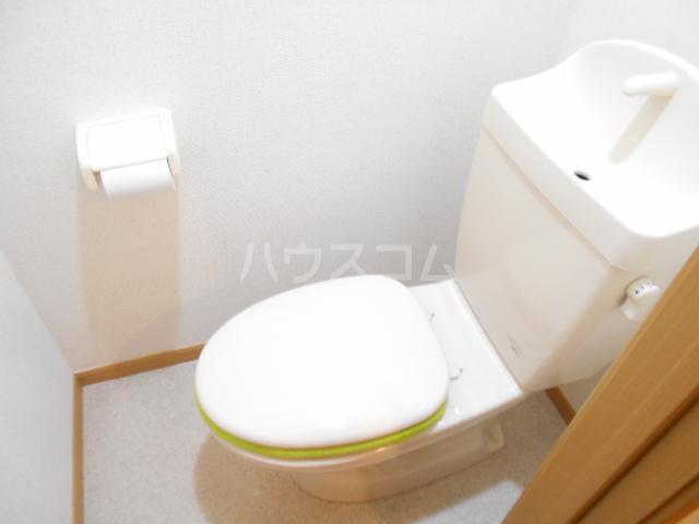 シャトル南平 104号室のトイレ