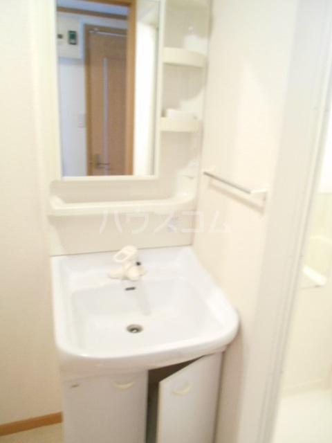 シャトル南平 104号室の洗面所