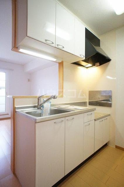 エレガンテA&S 02020号室のキッチン