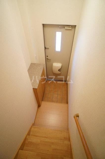 エレガンテA&S 02020号室の玄関