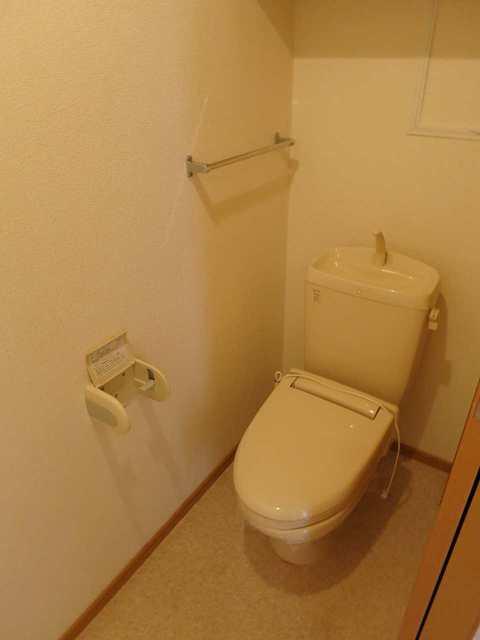 グランデールA 202号室のトイレ