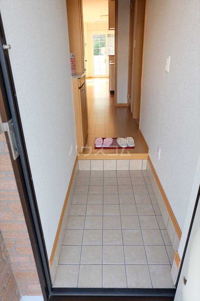 アンジュ・カルムA 01020号室の玄関