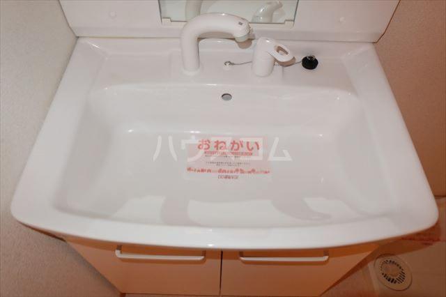 アンジュ・カルムA 01020号室の洗面所