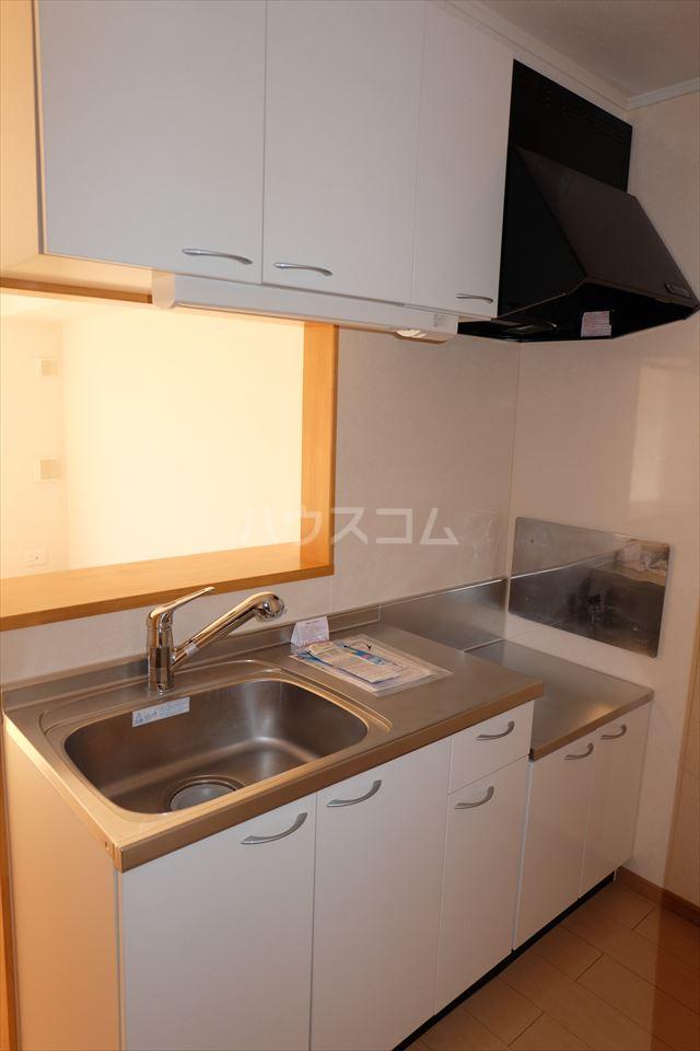 アンジュ・カルムA 01020号室のキッチン