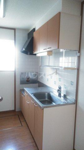 クレーデレ ドーノ メグミ 01040号室のキッチン