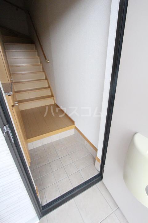 アニメート ヒル 202号室の玄関