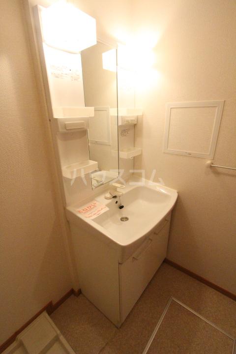 アニメート ヒル 202号室の洗面所