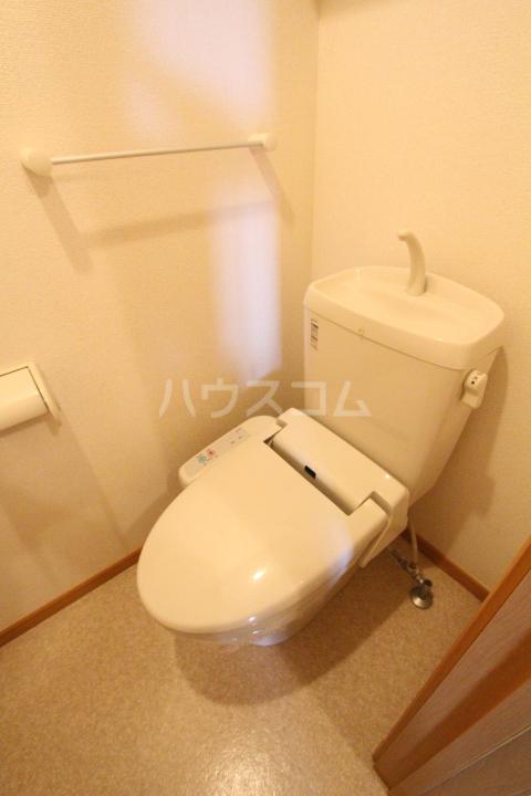 アニメート ヒル 202号室のトイレ