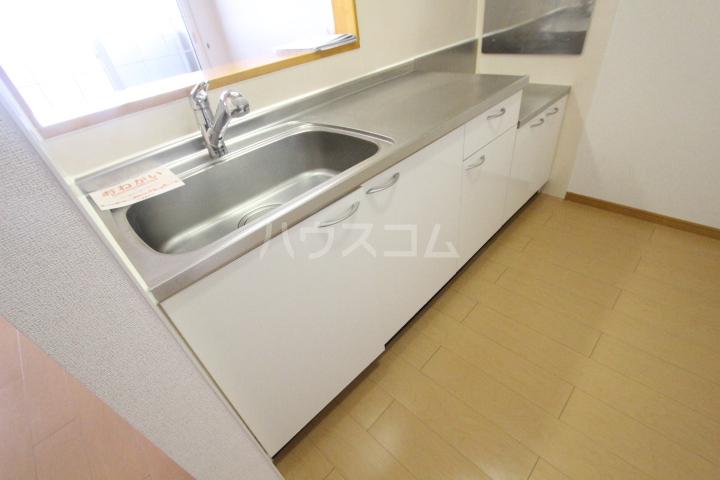 アニメート ヒル 202号室のキッチン