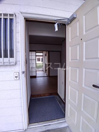 コーポラス岩津B棟 101号室の玄関