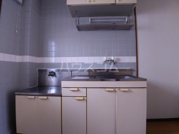 コーポラス岩津B棟 101号室のキッチン
