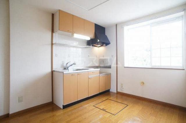 グレイスコート 01020号室のキッチン