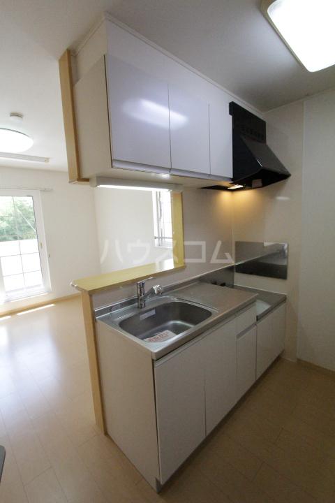 メゾン永和 202号室のキッチン