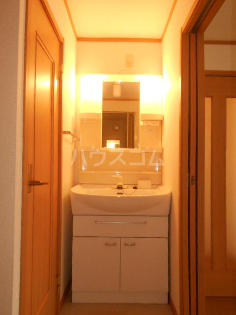プラシードA 201号室の洗面所