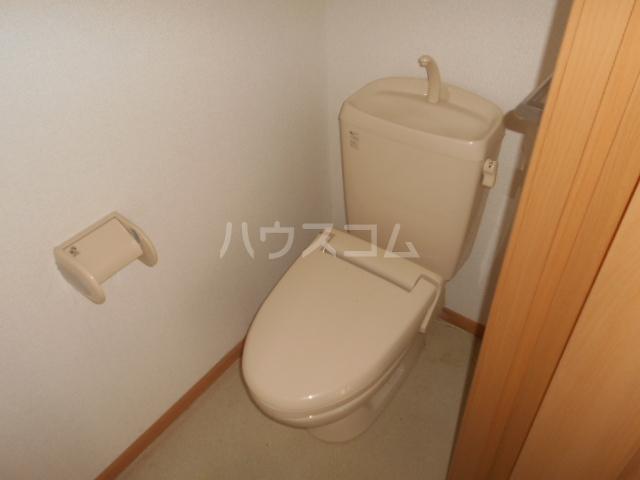 プラシードA 201号室のトイレ