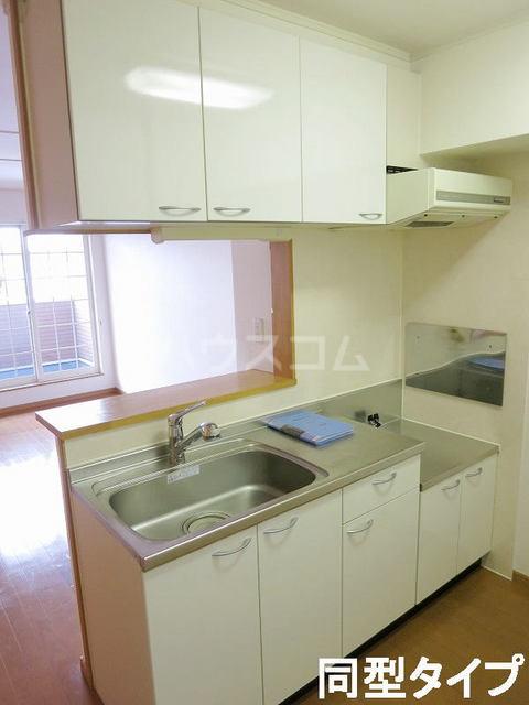 イースト N 202号室のキッチン