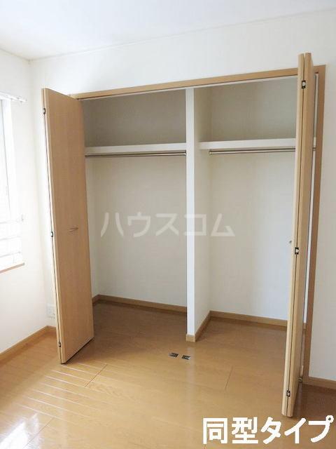 イースト N 202号室の収納