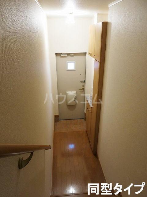 イースト N 202号室の玄関