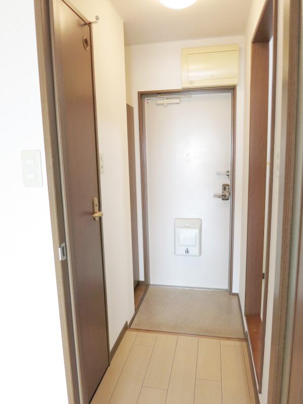 シャルマン21 502号室の玄関