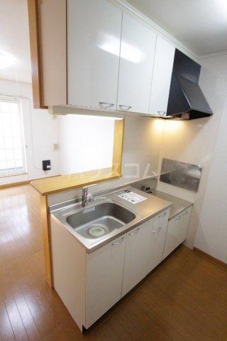 プラムポット 202号室のキッチン