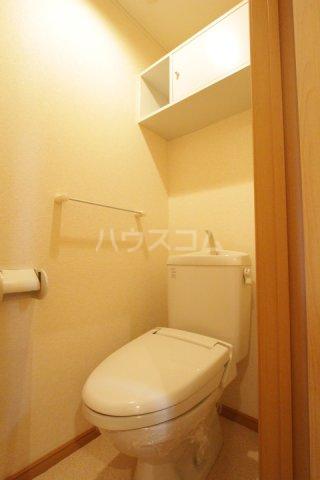 プラムポット 202号室のトイレ