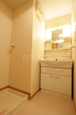 プラムポット 202号室の洗面所