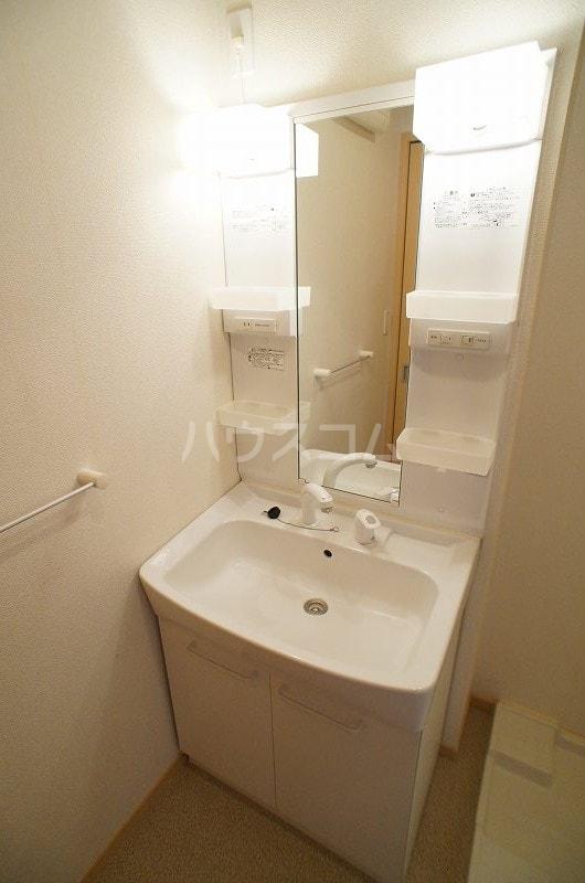 アルデンヌB 01040号室の洗面所