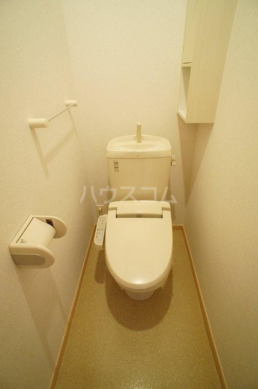 アルデンヌB 01040号室のトイレ