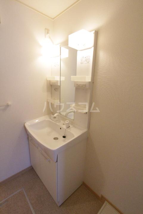 ミリオンベルB 202号室の洗面所