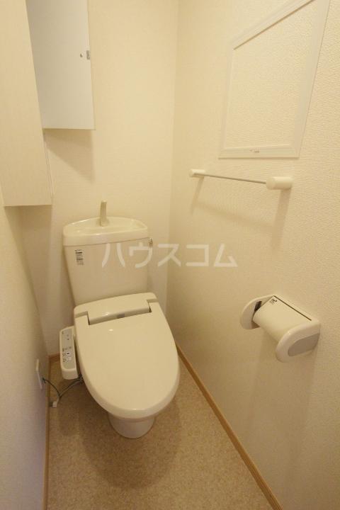 ミリオンベルB 202号室のトイレ