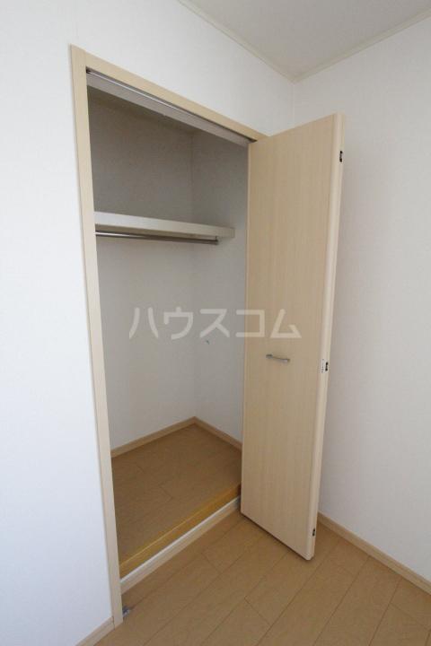 ミリオンベルB 202号室の収納