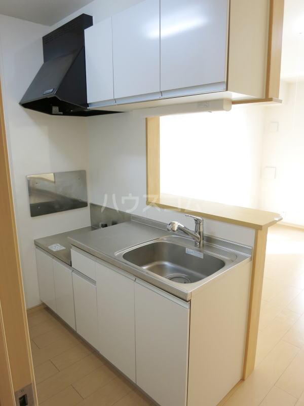 ハーヴェストⅡ 202号室のキッチン