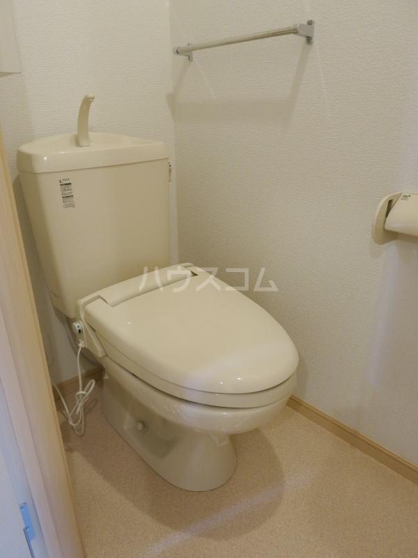 ハーヴェストⅡ 202号室のトイレ