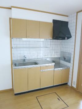 アルカンシエルⅠ 201号室のキッチン