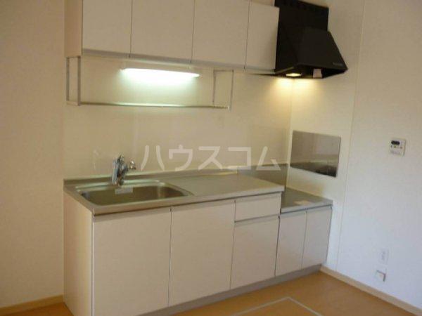 イリス D 101号室のキッチン