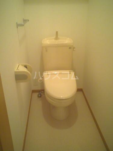 イリス D 101号室のトイレ