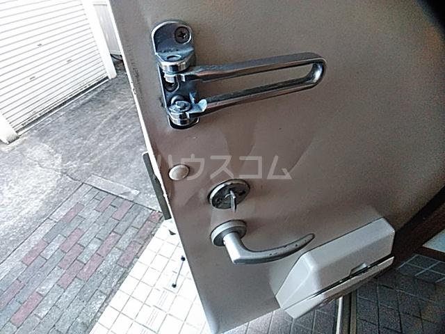 アンセートル城屋敷 B 102号室のセキュリティ